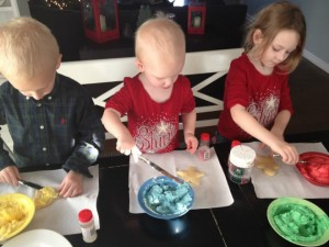 christmas cookie kids