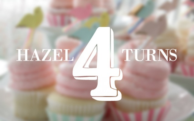 hazel turns four